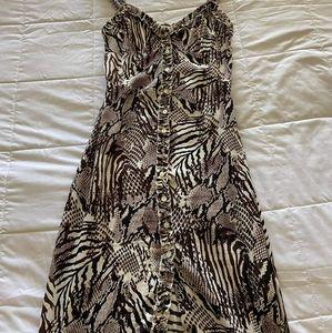 Aritzia animal print dress